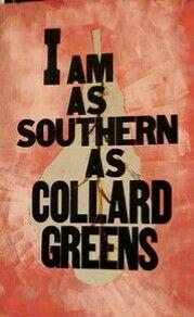 Southern As Collard Greens