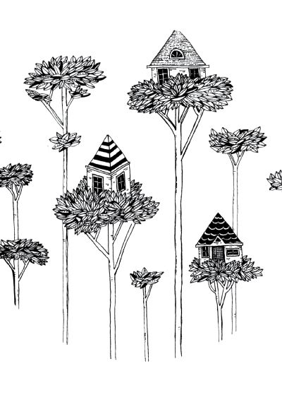 We Live in Treehouses