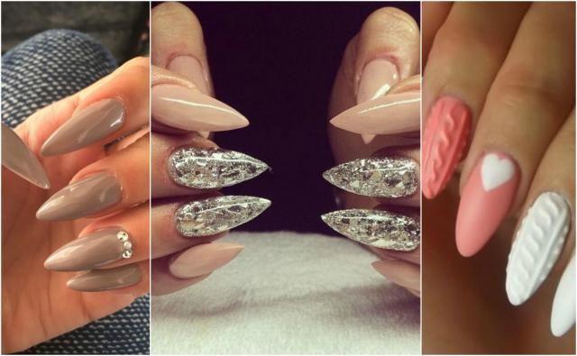 14 jesiennych wzorów na długie paznokcie