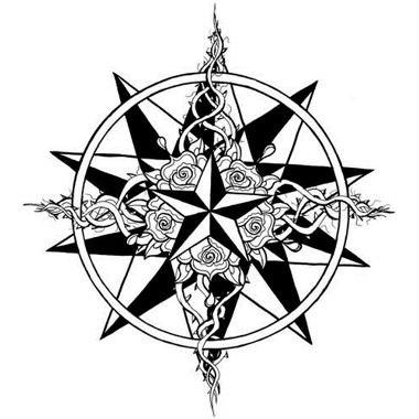 nautical concentric stars tattoo tat ideas pinterest tattoo tattoo art and tatting. Black Bedroom Furniture Sets. Home Design Ideas