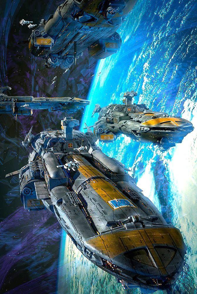 Cobra Wars Spaceships by Dave Seeley #spaceships # ...