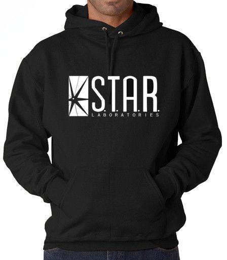 The Flash DC Barry Allen Laboratories Star Labs Hooded Sweatshirt. WANT IT WANT IT WAAANT IIIT!!!