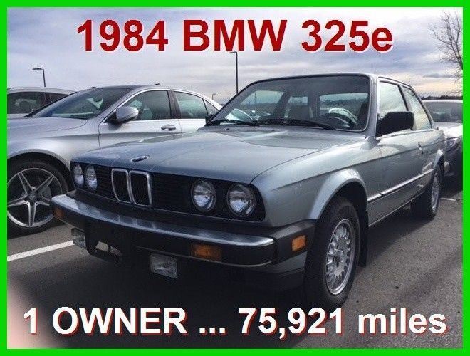 Nice Great 1984 BMW 3-Series 325e 1984 BMW 325e  2.7L I6 12V Manual 2017 2018 Check more at http://24auto.ga/2017/great-1984-bmw-3-series-325e-1984-bmw-325e-2-7l-i6-12v-manual-2017-2018/
