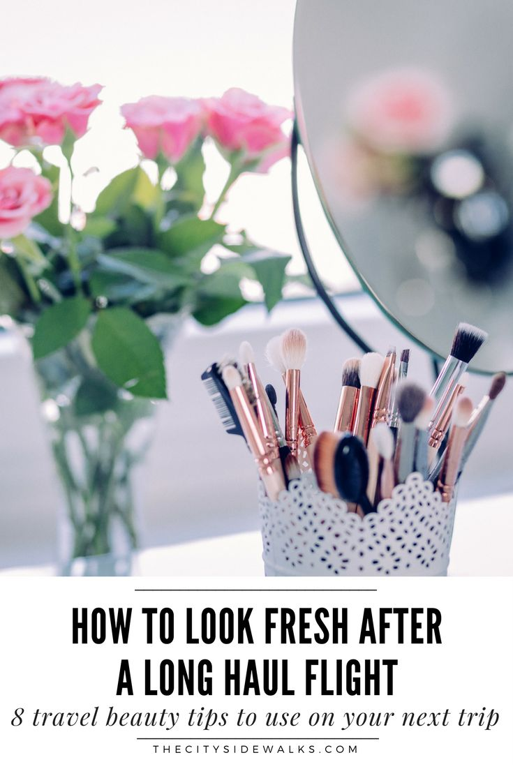 One of the worst things about travel is when you walk off of a long haul flight feeling completely drab and disgusting. Luckily, there are a few beauty remedies that you can start using to feel completely fresh faced every time you step off a flight. Use these 8 travel beauty tips to start looking and feeling your best after any flight.