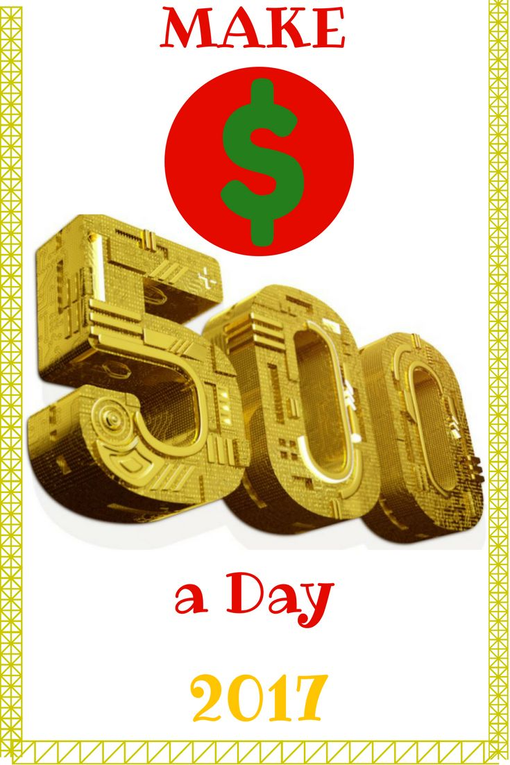 How to make $500 a day. World's SIMPLEST VIDEO GUIDE. Start making MONEY-15 minutes from now. Click the LINK & Join FREE >>>