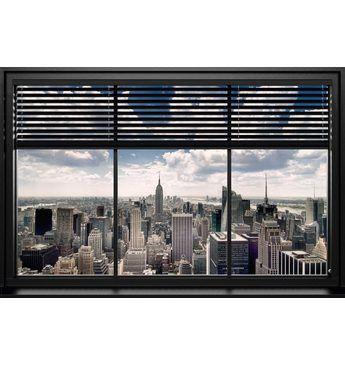 Bild, Home affaire, »New York - window blinds«, 90/60 cm Jetzt bestellen unter: https://moebel.ladendirekt.de/dekoration/bilder-und-rahmen/bilder/?uid=4c151743-2c0a-52ad-b188-891b9b869c09&utm_source=pinterest&utm_medium=pin&utm_campaign=boards #bilder #rahmen #dekoration