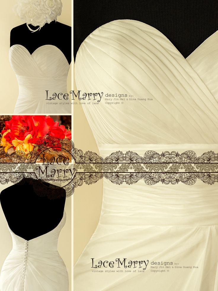 Horizontal Folds wrapped around the Waist create a Feminine Hourglass Silhouette!!!
