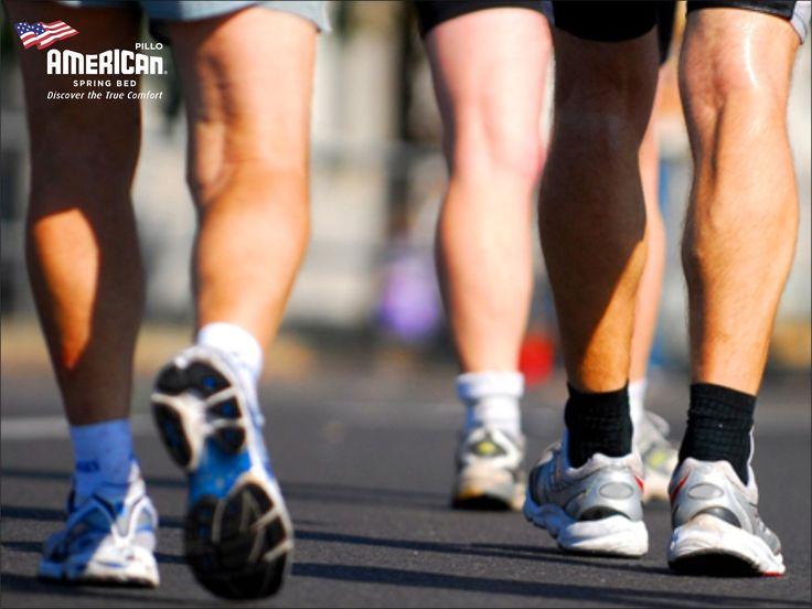 Orang yang berjalan 20-25 mil per minggu, berpotensi untuk memiliki umur yang panjang. #AmericanPilloInfo