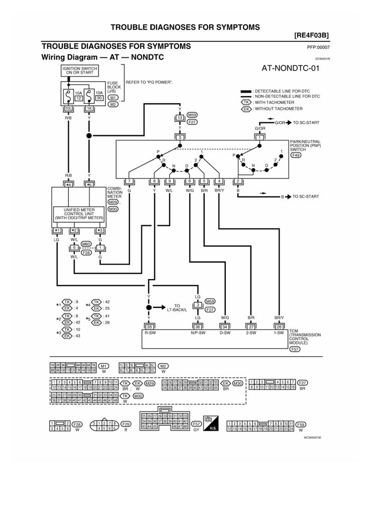 Nissian altima shift solinoid | http://www.autozone.com/autozone/repairguides/Nissan-Car-Altima-Sentra ...