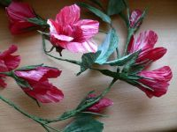 Růžová girlanda