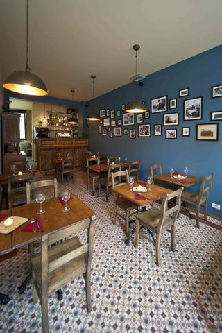 Restaurant met OS13 tegels