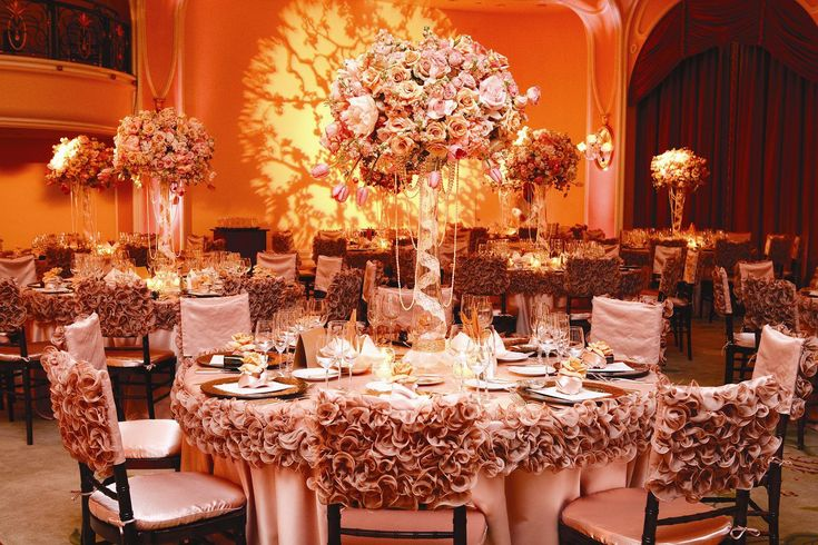 17 best images about wedding day bliss on pinterest for Table and chair decorations for weddings