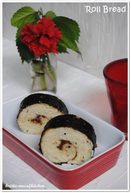 KRISTA MOCAF KITCHEN: Roll Bread (with Tuna and Seaweead) - Not Gluten F...