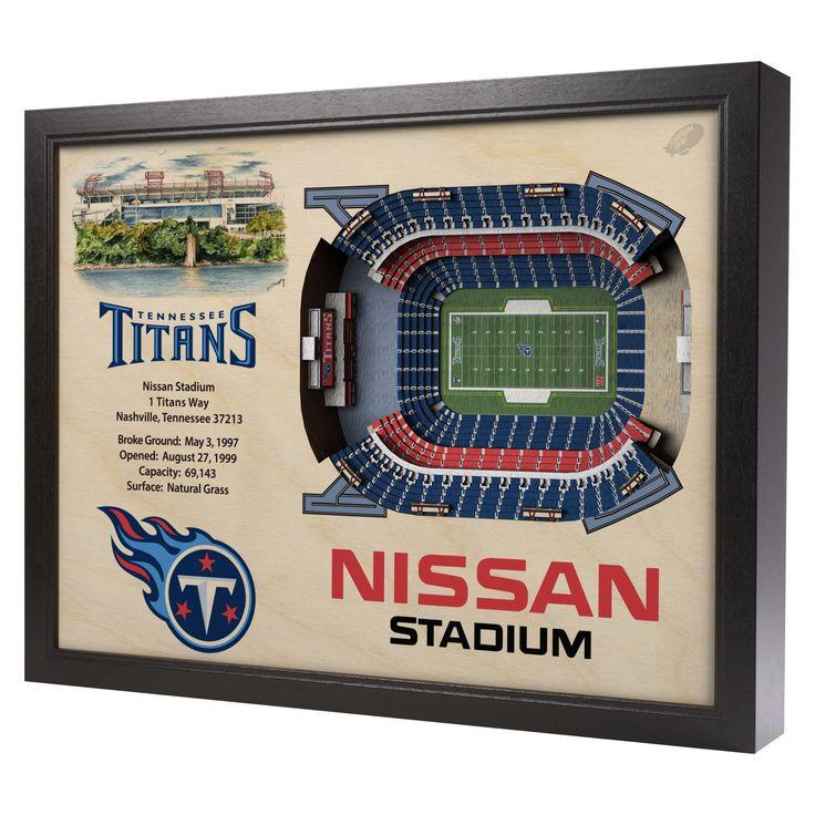 NFL Tennessee Titans StadiumViews Wall Art - Nissan Stadium