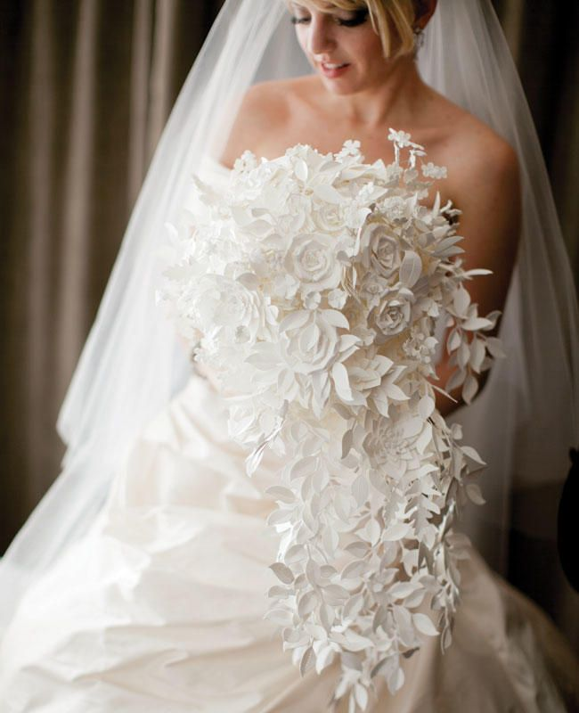 9 Brides Who Skipped the Fresh Flower Bouquet | TheKnot.com