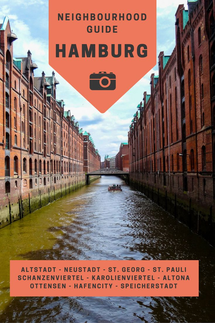 Read what to do in Hamburg neighborhoods. Check our travel tips for food, drinks, architecture and shopping in:  Altstadt & Neustadt, St. Georg, St. Pauli, Schanzenviertel, Karolienviertel, Altona, Ottensen Hafencity and Speicherstadt.