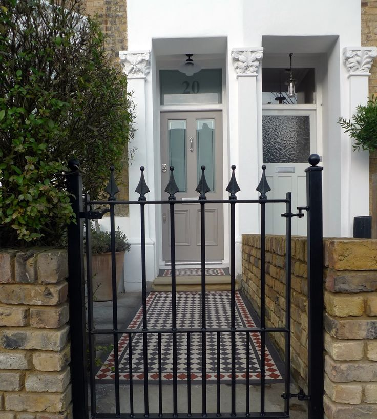 Victorian Front Garden Company London Peckham Dulwich Clapham Balham  Earsfield