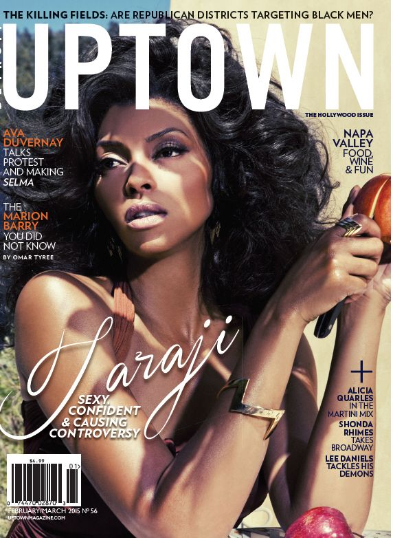 Taraji for Uptown Magazine
