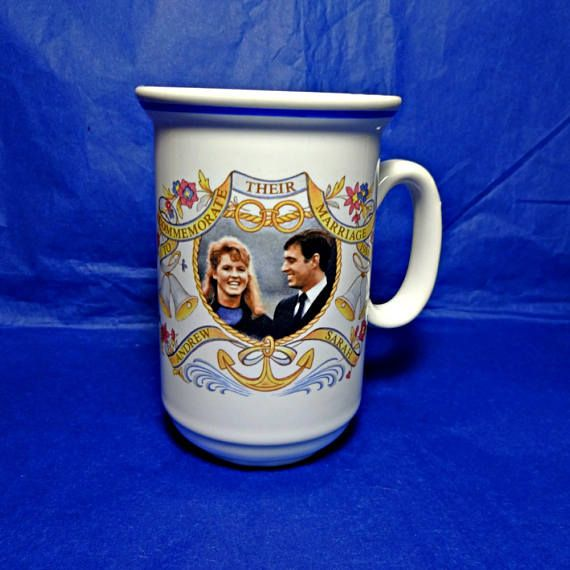Sarah Ferguson 1986 Royal Wedding Prince Andrew Churchill