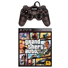Ya te habiamos presentado un paquete para que te entretengas con un juego de deportes, ahora te presentamos uno con el juego del momento, Grand Theft Auto V para Playstation 3, y te damos un mini control turbo para que sigas disfrutando de este gran titulo.