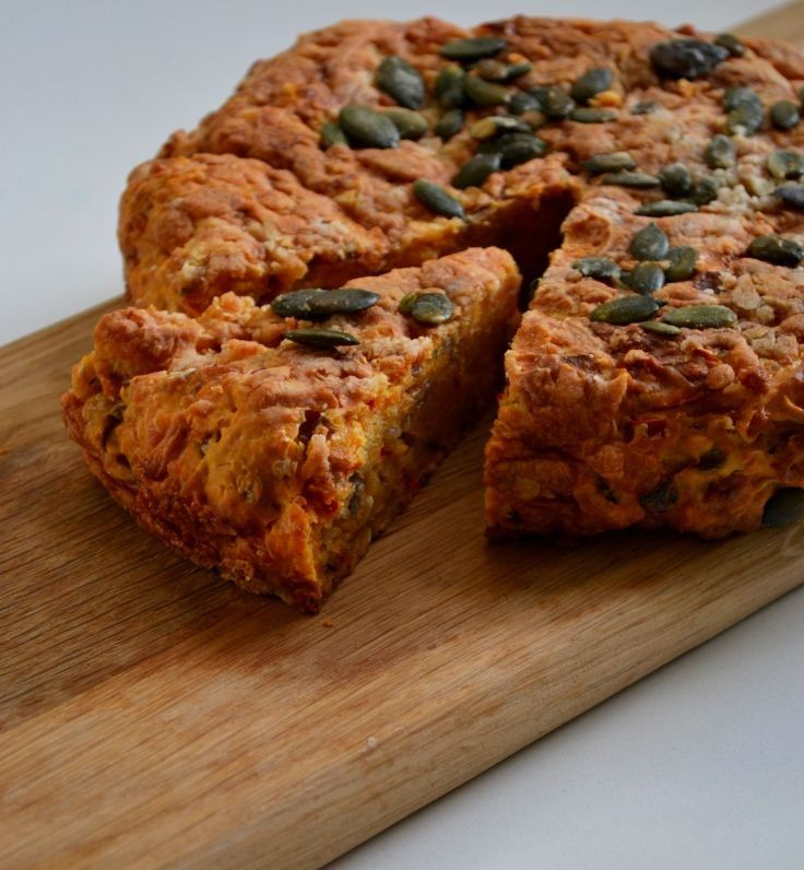 Cheddar & Chilli Sweet Potato Bread