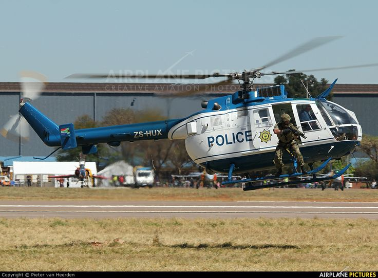 South Africa - Police ZS-HUX aircraft at Waterkloof.
