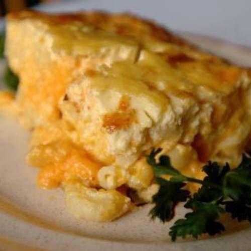 macaroni pie macaroni and cheese mac cheese cream cheese caribbean ...