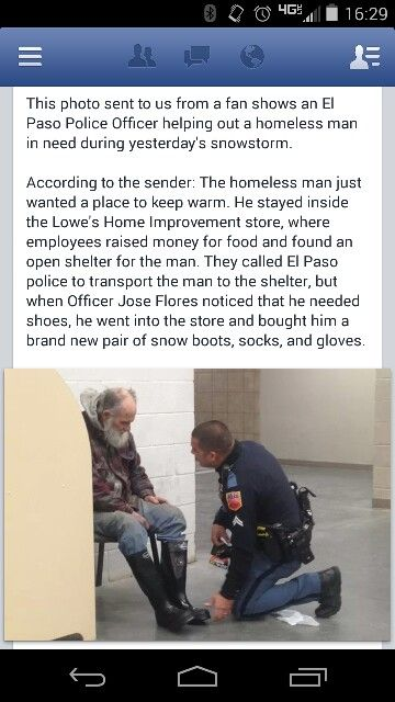 I'm so proud that I live in a country where this happens. Kudos to the people who helped this gentleman.