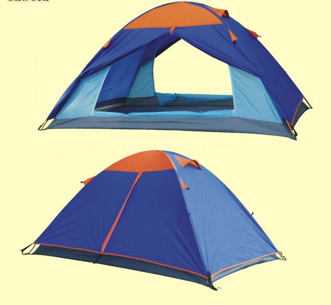 Find More Tents Information about Outdoor leisure tent camping tents tents in the mountains as double door tent,High Quality tent clearance,China tent popup Suppliers, Cheap tent quick from K-NICE OUTDOORS TRIBE on Aliexpress.com
