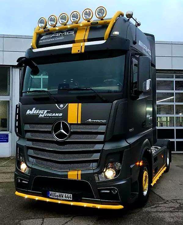 Mercedes Benz Actros Truck Mit Bildern Mercedes Benz Lkws