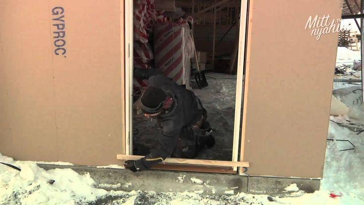 Hur gör snickaren - Montering av ytterdörr