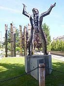 Monumento a Joaquín Costa, padre del Regeneracionismo.