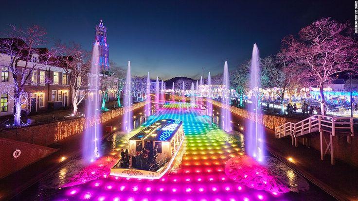 Nabana No Sato and Japan's winter lights