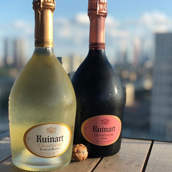 Champagne Moments On Instagram Two Amazing Champagnes Champagne Ruinart Blanc De Blancs Rose Photo By Ousix06 In 2020 Champagne Drinks Rose Photos