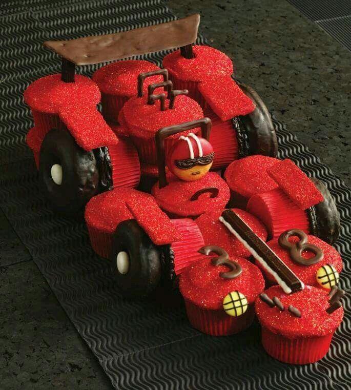 Racewagen  cupcake 's