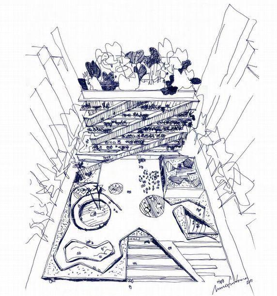 concept SKETCH — fabriciomora: Mecanoo