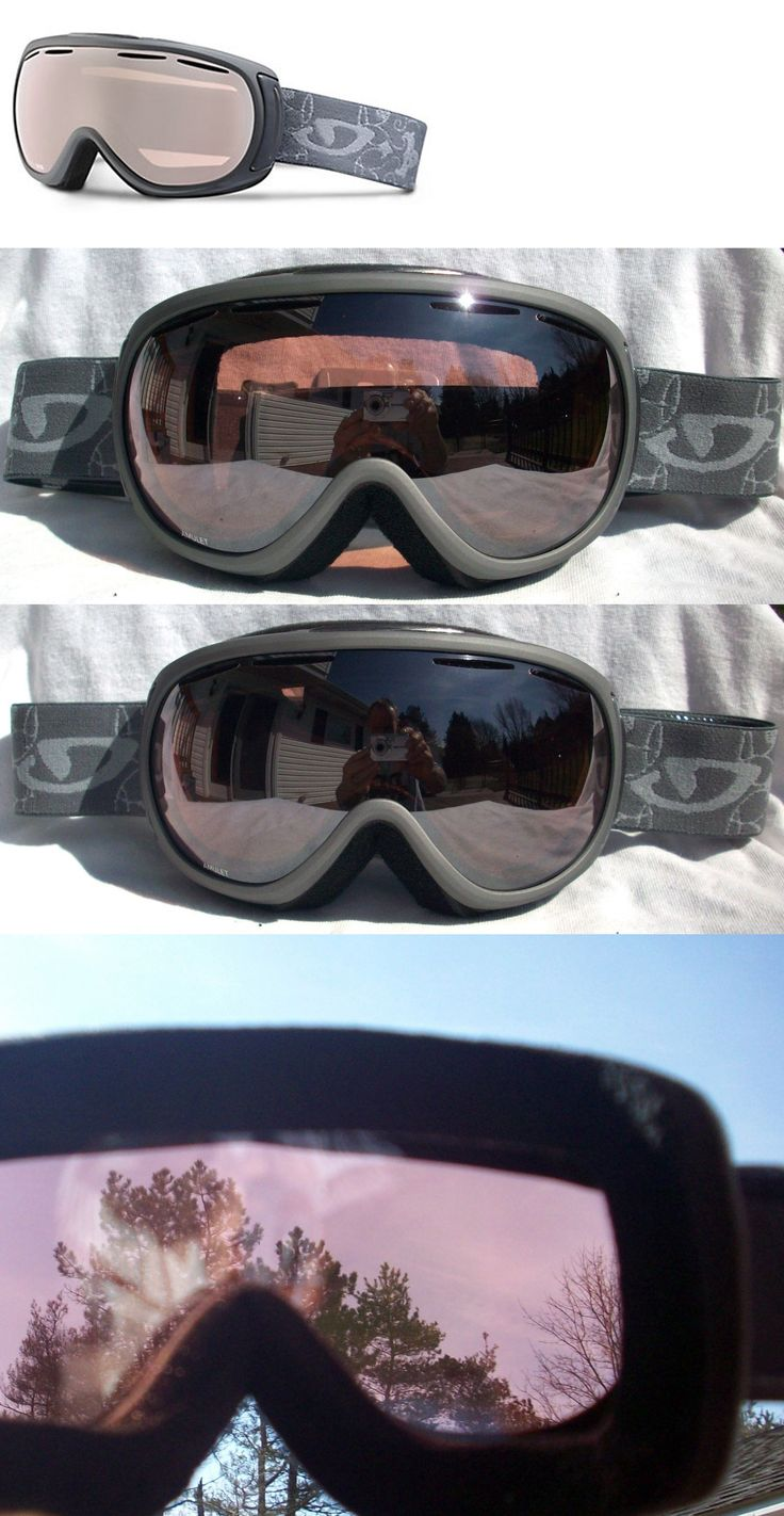 Other Winter Sports 1303: $120 Womens Giro Amulet Titanium Grey Winter Ski Goggles Ladies Roxy Zeiss Lens -> BUY IT NOW ONLY: $59 on eBay!