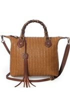Free shipping and returns on Eric Javits 'Bulu - Squishee®' Woven Shoulder Bag at Nordstrom.com. Bamboo-textured links embellish the chain strap of a compact woven shoulder bag. Squishee® fabrication resembles straw but keeps its easy shape.