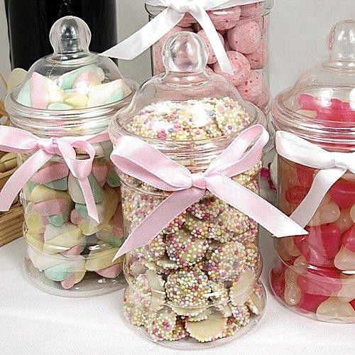 Plastic Sweet Jar