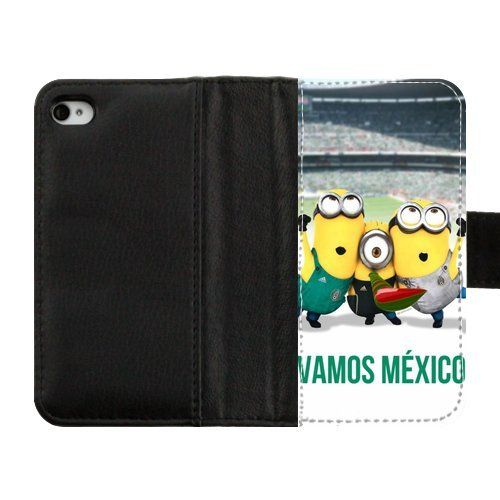 Amazing Soccer Minions Seleccion Mexicana Design Diary Leather Case for iPhone 4 4S USAHarry-04429 Other Things,http://www.amazon.com/dp/B00GZCXN3S/ref=cm_sw_r_pi_dp_ICcMsb0QYKRFDSBY