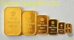 Bawa Emas Palsu 20 kg Pria ini Ditangkap Polisi di Sumedang