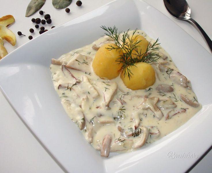 Klouzanda - omáčka z masliakov