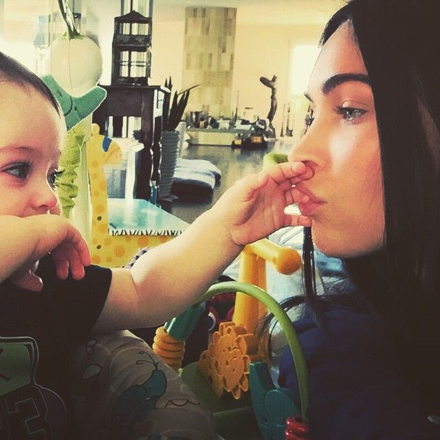 Pin for Later: Fact: Megan Fox's Adorable Sons Will Melt Your Heart in Record Time