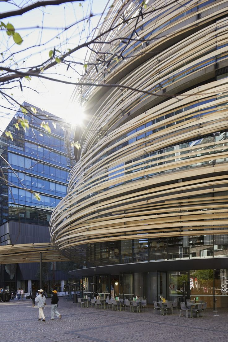 Kengo Kuma The Exchange a new centre for Sydney