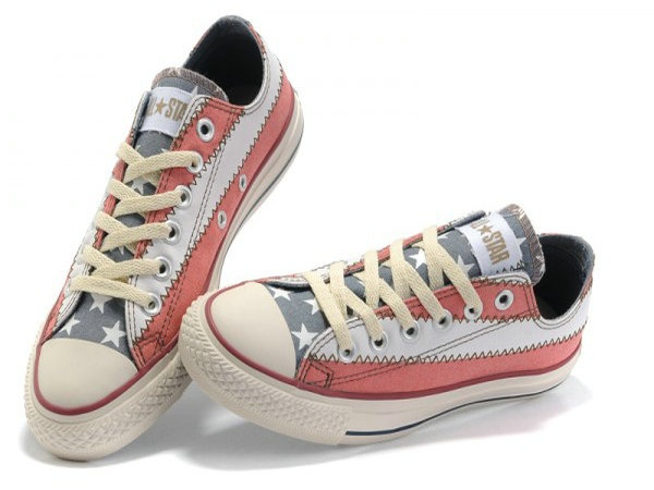 Converse All Star American Flag Grey Tunga Low Red White Shoes Converse  Canada