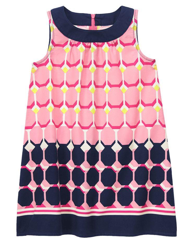 Geo Print Dress at Gymboree