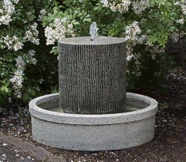 Outdoor Garden Water Features Contemporary Outdoor Fountains