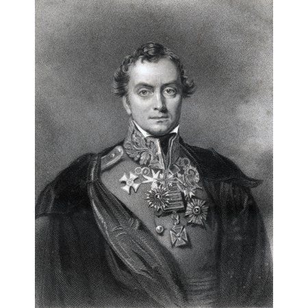 Henry Hardinge 1St Viscount Hardinge 1785 To 1856 British Field Marshal And Governor General Of India Engraved By F Holl After Eddis From The Book The National Portrait Gallery Volume Iii Published C1