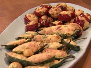 Cornbread-Stuffed Jalapeño Poppers, maybe with a raspberry chipotle cream cheese dip..