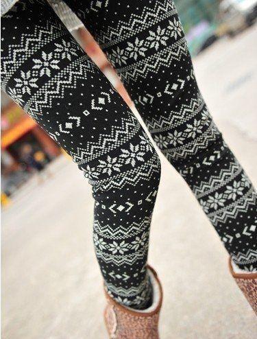 Winter leggings.